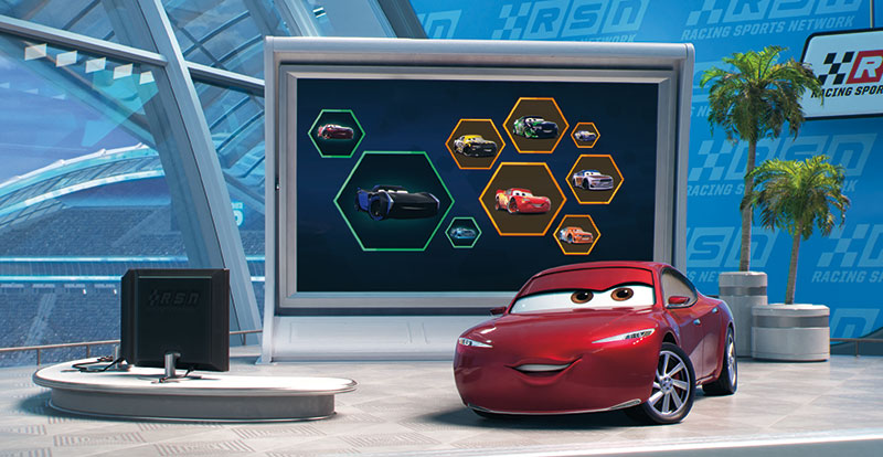 Cars 3 on DVD and Blu-ray November 8
