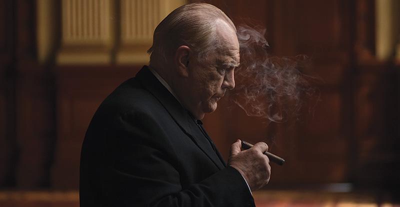 Brian Cox on playing Churchill