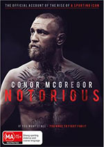 Conor Mcgregor Notorious DVD Cover