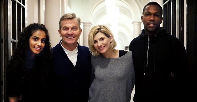 Doctor Who's squeaky clean new companions announced