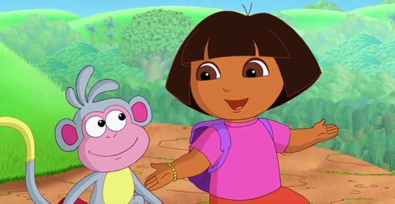 Michael Bay does Dora the Explorer