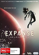 The Expanse DVD COver