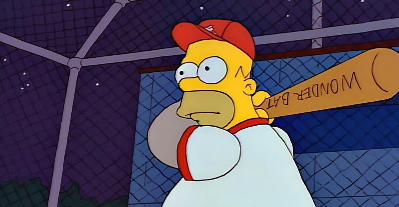 The Simpsons' 'Homer at the Bat' gets special
