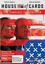 House Of Cards: Season 5 DVD cover
