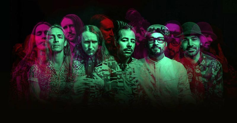 Incubus hitting the east coast in 2018