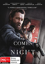 It Comes At Night DVD cover