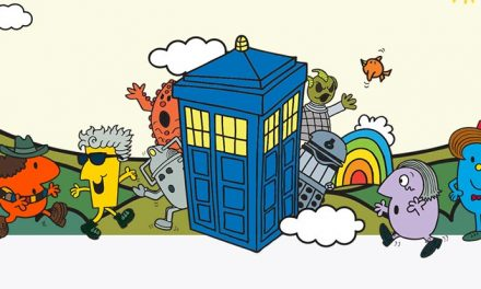 Mr. Men do Doctor Who – woohoo, new crew through!