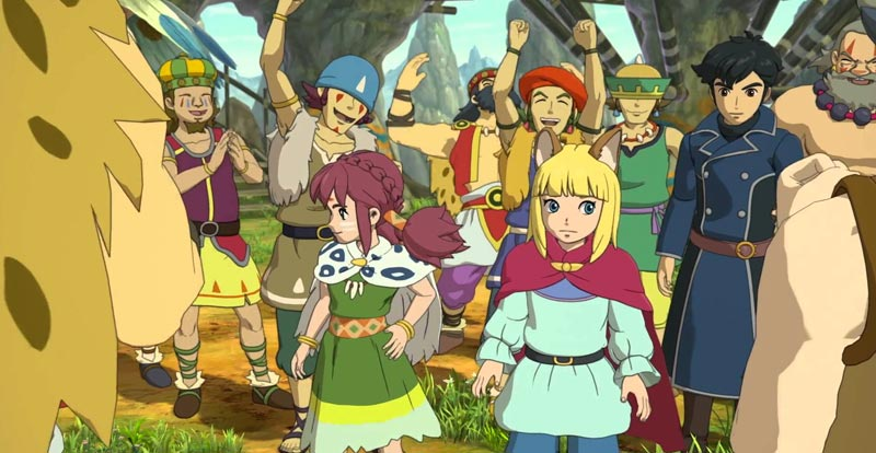 No Ni no Kuni II: Revenant Kingdom for us!