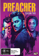 Preacher: Season 2 DVD Cover