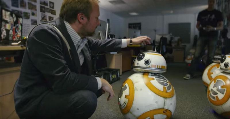 Directing The Last Jedi – new clip