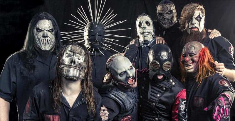 Stuck for a Halloween costume? Go as Slipknot!