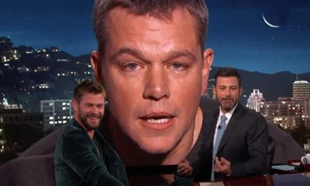 Matt Damon takes on the Mighty Thor!