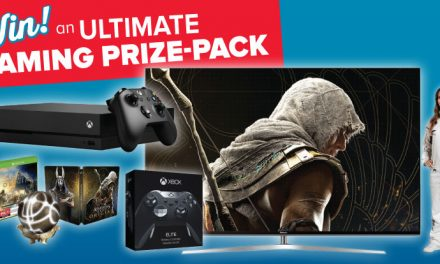Sign-up to win an ultimate gaming prize-pack