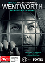 Wentworth: Season 5 DVD cover