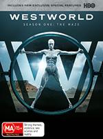 Westworld Season 1: The Maze DVD cover
