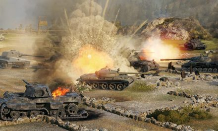 World of Tanks trundling onto local server