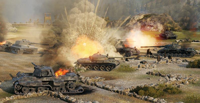 World of Tanks trundling onto local server