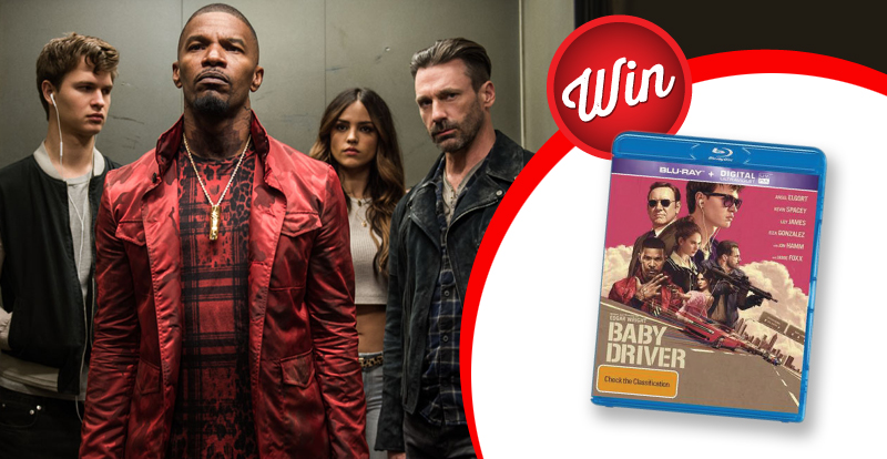 Baby Driver movie and soundtrack bundle up-for-grabs