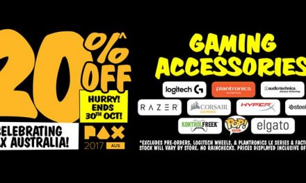 Celebrate PAX Aus with 20% off gaming accessories at JB Hi-Fi