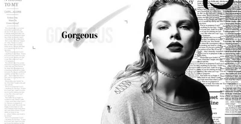 Taylor Swift drops another new single – 'Gorgeous'