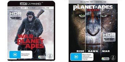 4K November 2017 - Planet of the Apes
