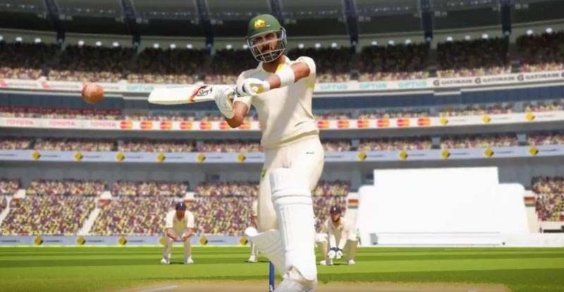 Ashes Cricket brings 'The Big Show' to consoles today!