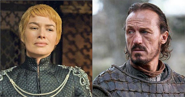 Cersei and Bronn in a relationship