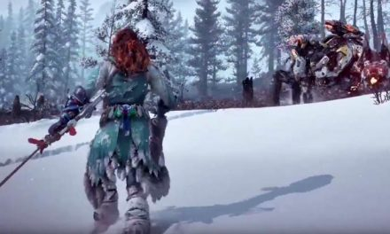 Horizon Zero Dawn: The Frozen Wilds – meet the Scorcher