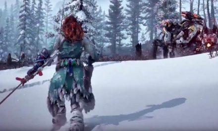 Horizon Zero Dawn: The Frozen Wilds – meet the Scorcher