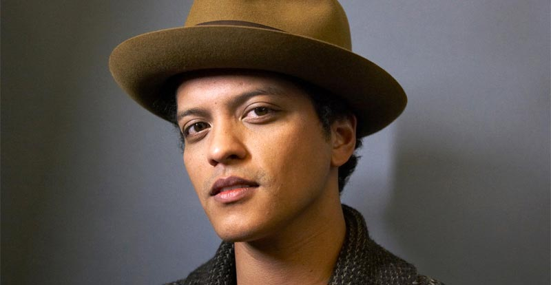 Grammy noms - Bruno Mars