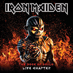 Iron Maiden Book of Souls The Live Chapter Album Cover