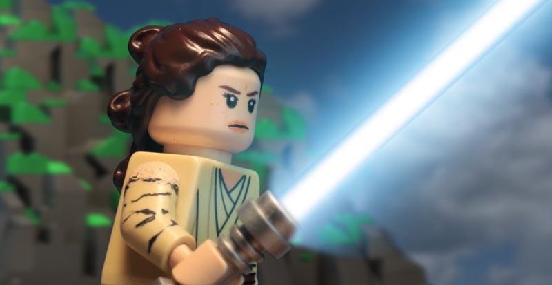 Star Wars: The Last Jedi trailer – in LEGO