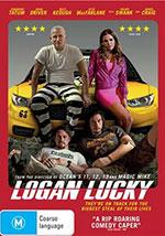 Logan Lucky DVD Cover