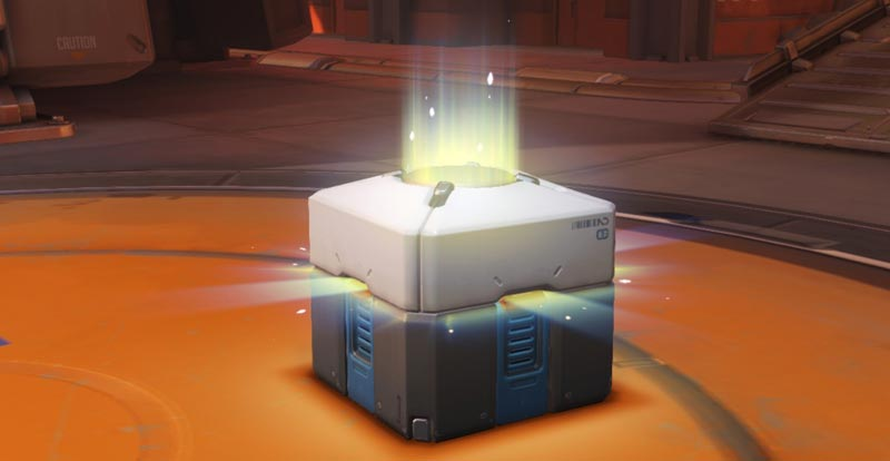 Do loot boxes in games constitute gambling?