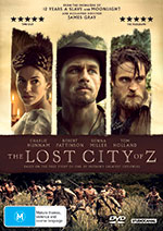 The Lost City Of Z DVD Cover