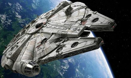 Star Wars' Millennium Falcon goes camping!