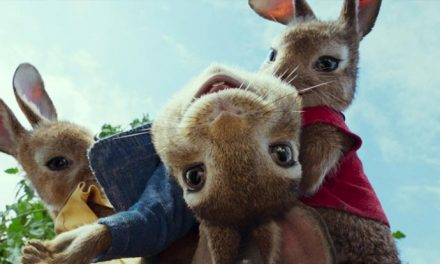 Peter Rabbit's behind… the scenes!