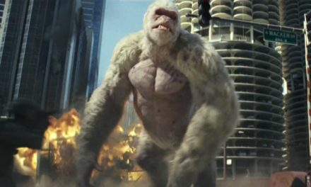 The Rock to the rescue in first Rampage trailer