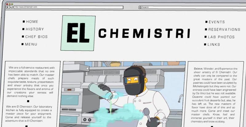 Springfield eateries - El Chemistri