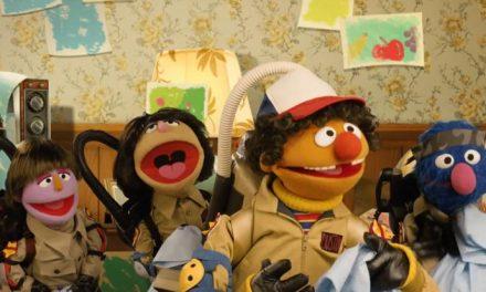 Stranger Things happening on Sesame Street!
