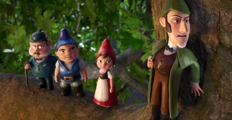 Johnny Depp is Sherlock… Gnomes