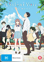 Silent Voice DVD cover