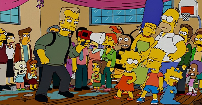 The Simpsons S18 - Kiefer Sutherland