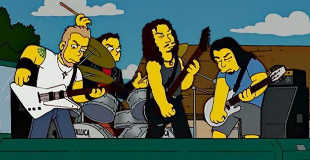 Metallica's mad Monday moshes