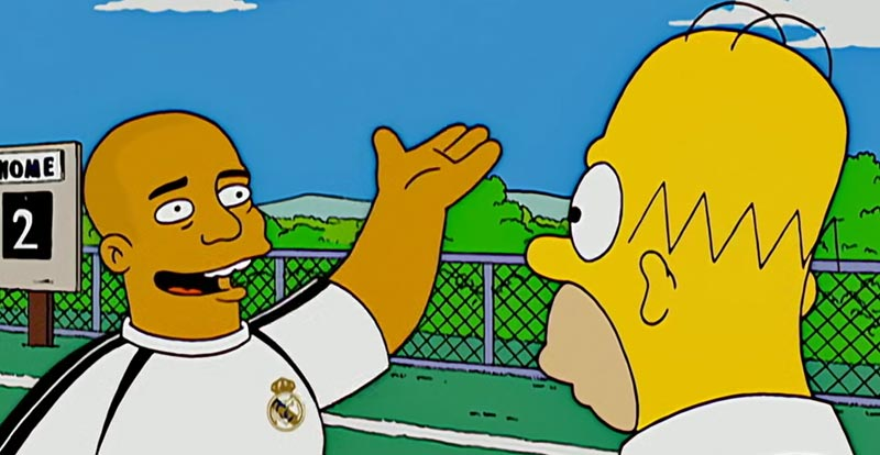 The Simpsons S18 - Ronaldo