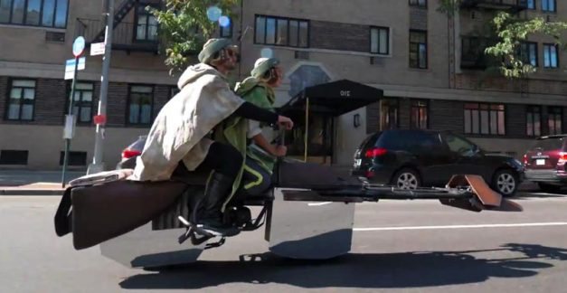 Star Wars comes to the Big Apple