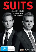 Suits Season 7, Part 1 DVD Cover