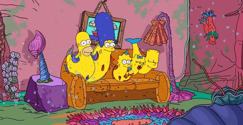 Forget The Simpsons, meet The Shrimpsons!