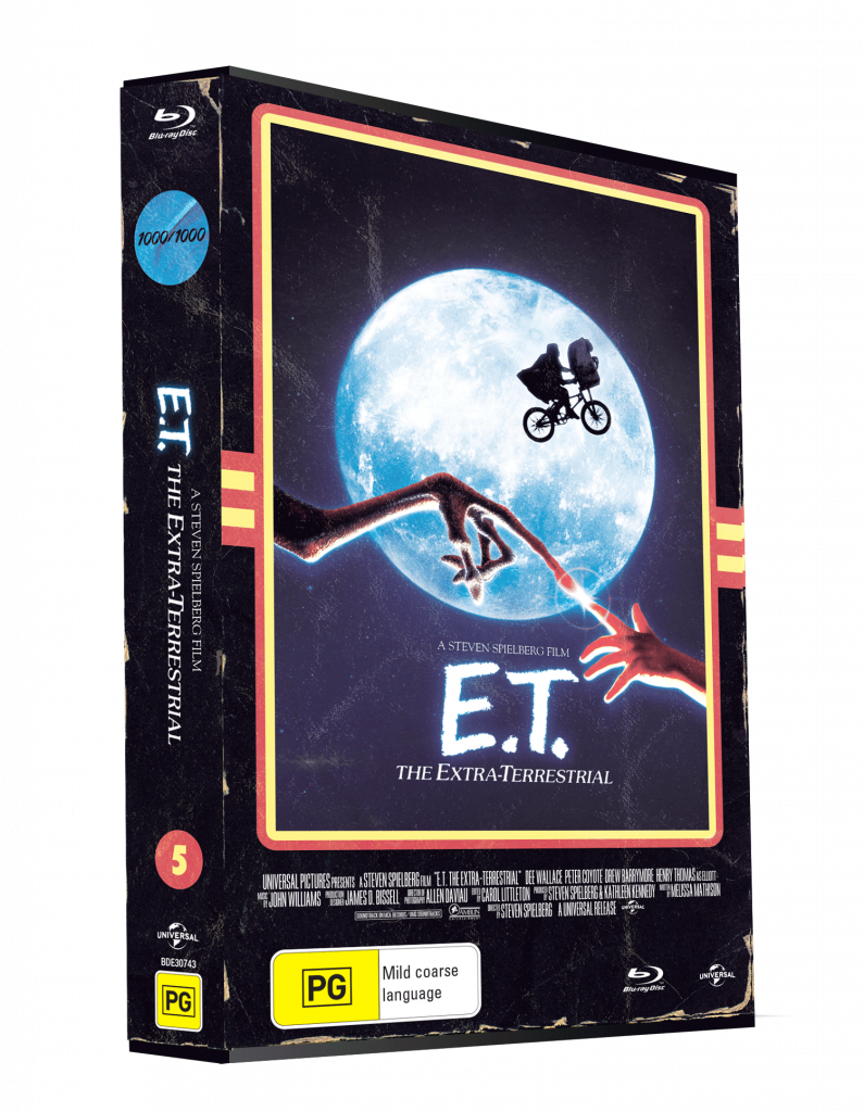 E.T. The Extra Terrestrial VHS