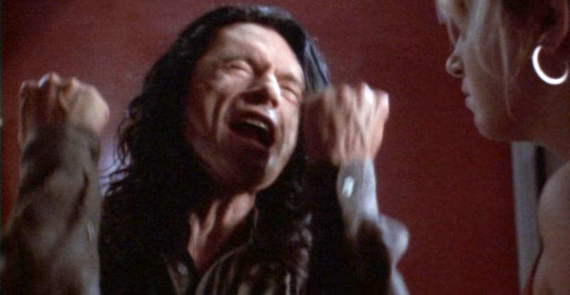 Yay for Franco's Globe, but what was Tommy Wiseau gonna say?